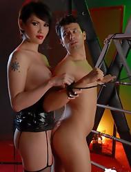 Horny Eva ass and mouthfucking dirty Gabriel