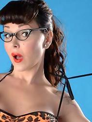 Danielle Foxx exposing her hot body