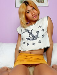 Yet another gorgeous ladyboy showing her goodies and masturbating! The Biggest Ladyboy Network in the World!