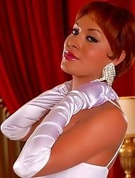 Glamorous Mia Isabella Posing