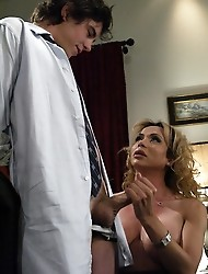 Hot shemale getting sucked off, Virgin fucked by big tranny cock!