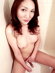 Nozomi is one of the superstars on Shemale Japan. She's poised and beautiful, while oozing with sexual energy.