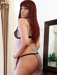 Black TGirl Fantasy is surely any ebony lover's great fantasy!